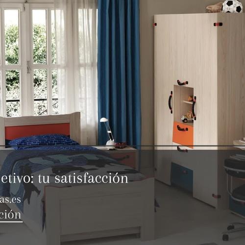 Dormitorios juveniles en Narón | Muebles Rivas