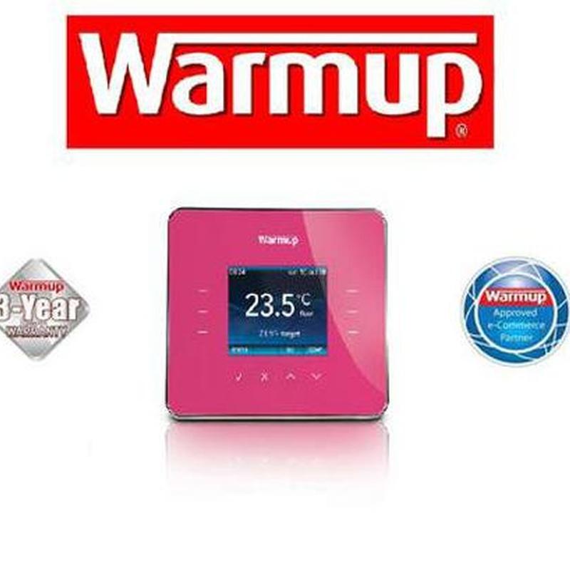 Warmup termostatos: Productos y Servicios  de Parquets Cruzgal