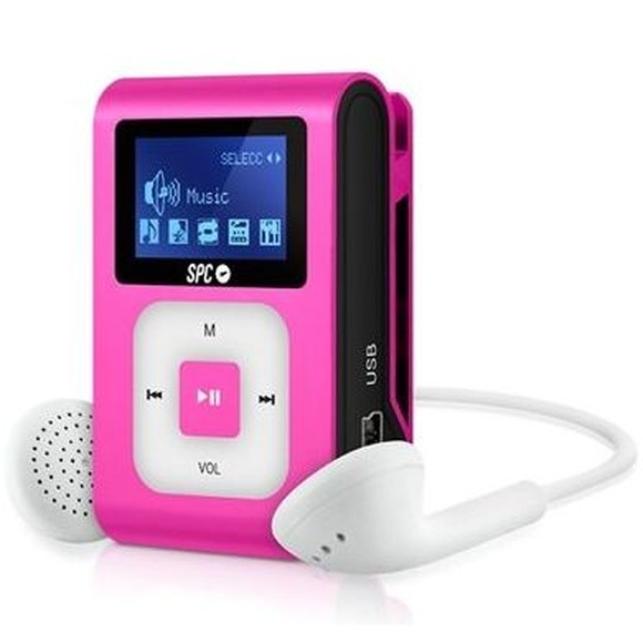 SPC Reproductor MP3+Radio 8648P 8GB Rosa: Productos y Servicios de Stylepc