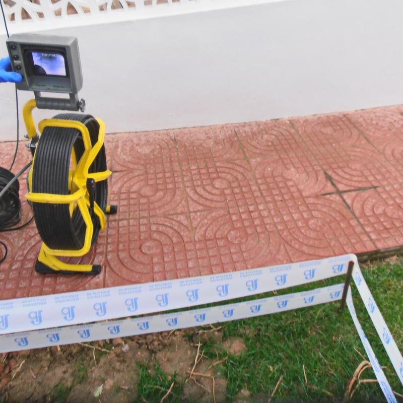 Inspección con cámara de video: Servicios de Pele & Cano Desatascos