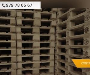 Compra de palets en Palencia | López-Bartomé