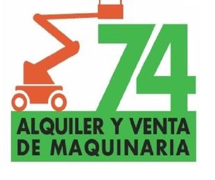Más información sobre Alquiler y Venta de Maquinaria 74, S.L.