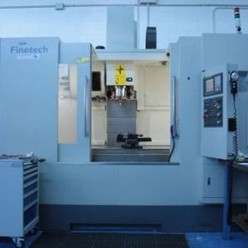 Parque maquinaria: Productos y servicios de Blumeprot
