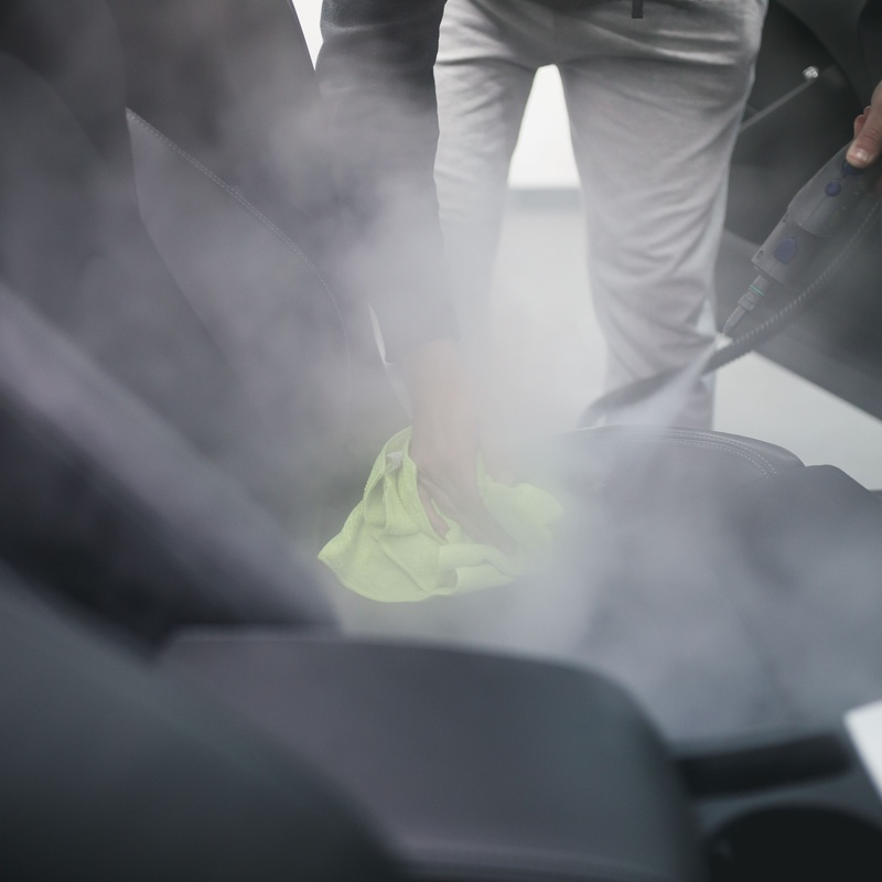 Desinfección completa del vehículo: Servicios de Carrocerias Corredor