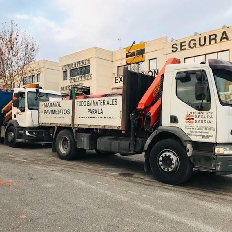 Transporte y distribución: Servicios de Segura Sarria