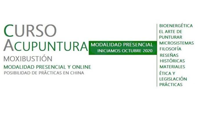 Curso Acupuntura Presecial y Online Octubre 2020