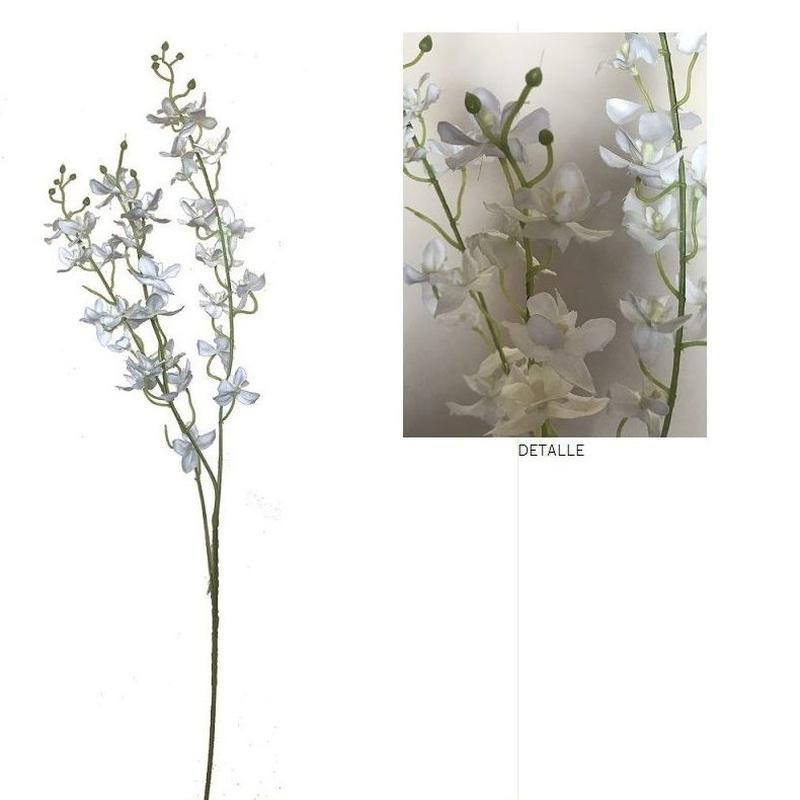 VARA DE DENDROBIUMx3 (85cm)/ BLANCO REF: AM-166 (BLANCO) PRECIO: 2,25€/UD