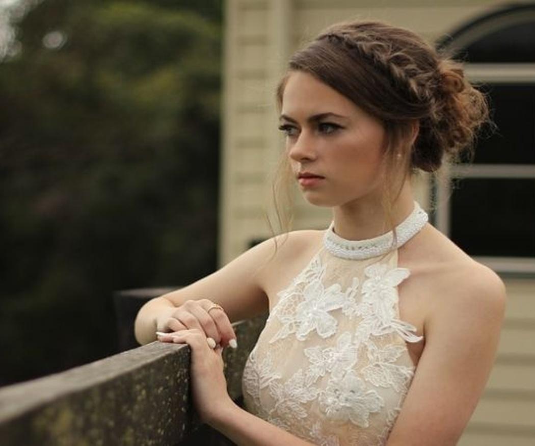 ¿Qué estilo de recogido es aconsejable para novias?