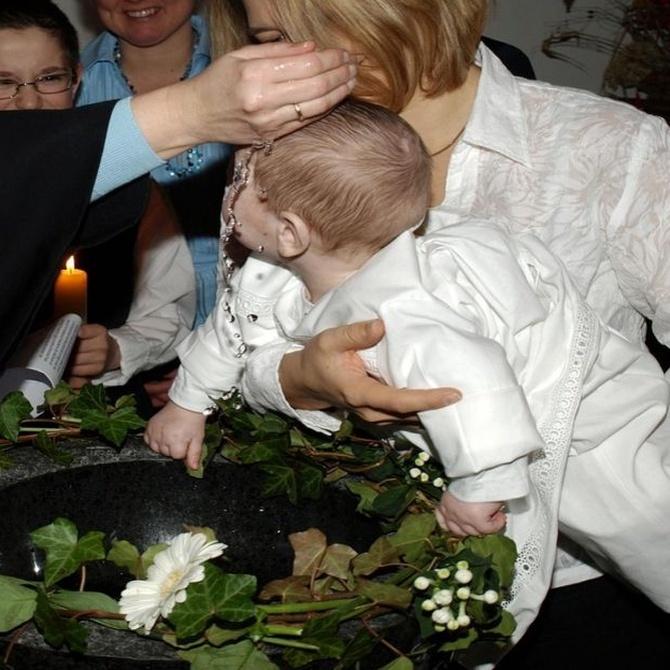 Puntos importantes para organizar un bautizo