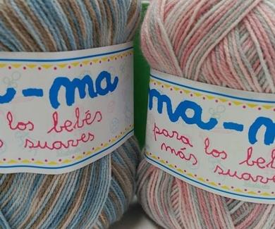 Nuevos jaspeados de lana en Entrecosturas