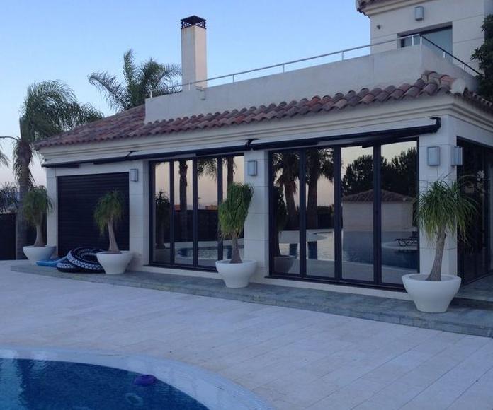 Láminas para terraza: Productos de Solargar diseño y protección solar