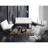 conjunto de sofas Barcelona en color Blanco
