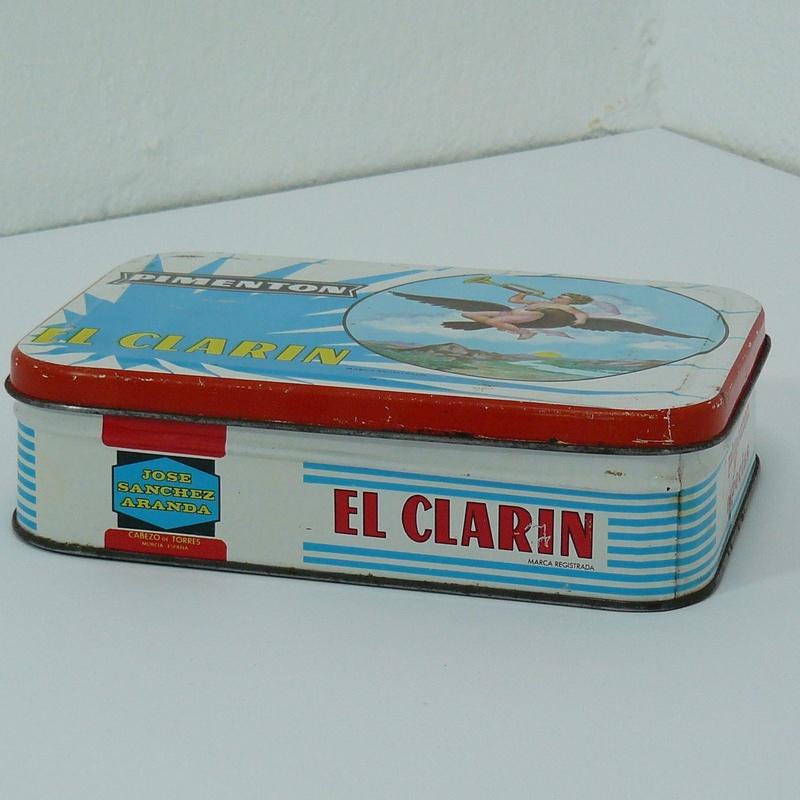 Lata de pimentón El Clarin:  de Ruzafa Vintage