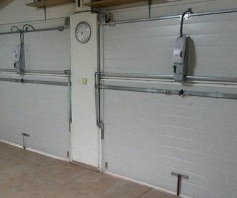 Instalación de puertas enrollables: Motores y automatismos de Automatismos Jimm