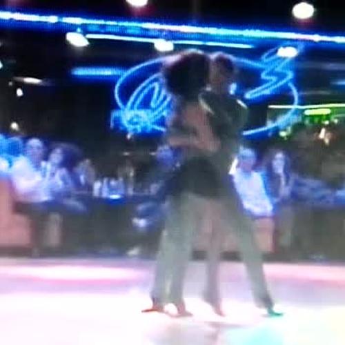 Estos son nuestros profesores de baile de salón, Irene y Jose