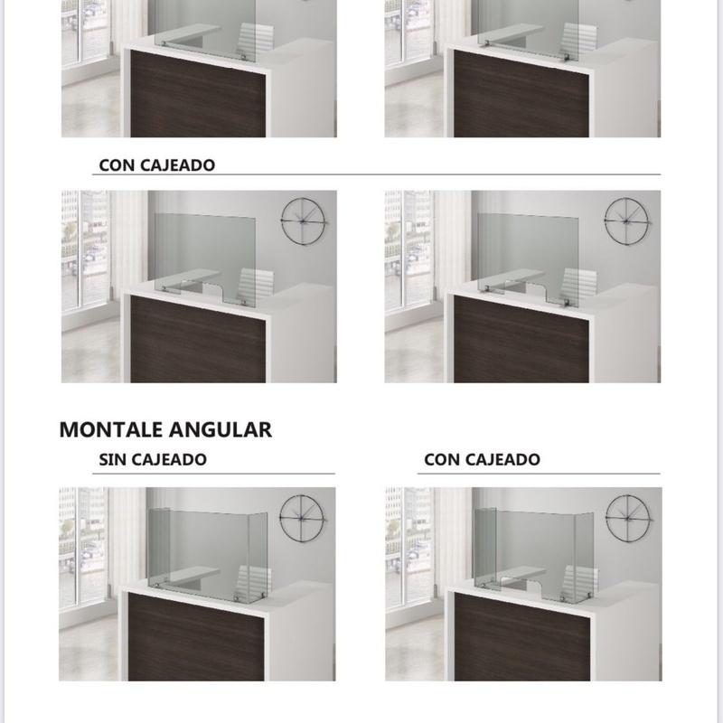 Pantallas de protección: Catálogo de Beda Aluminios, S.L.