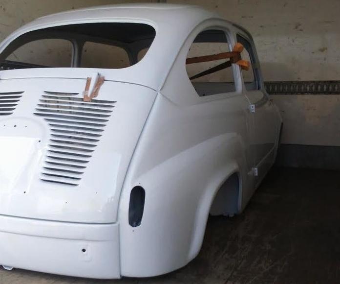 Restaurar  coche seat 600 Madrid