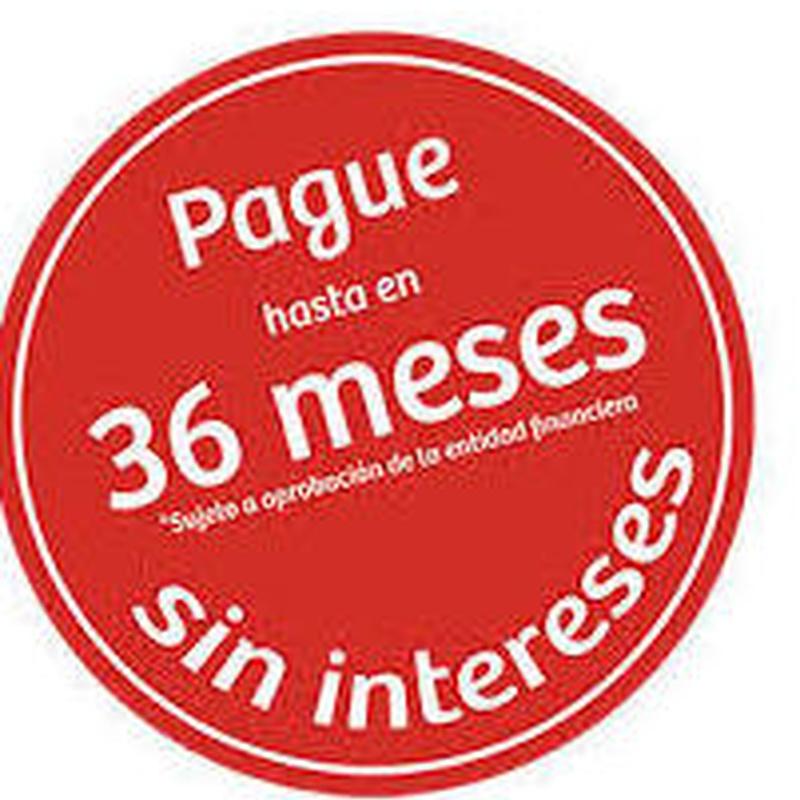 Financie sus compras hasta en 36 MESES SIN INTERESES: Productos y servicios de Cocin Nova, S.L.