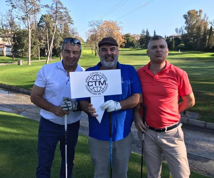 Colaboración con el II Torneo de Golf Apymespa a beneficio de la Asociación Principito