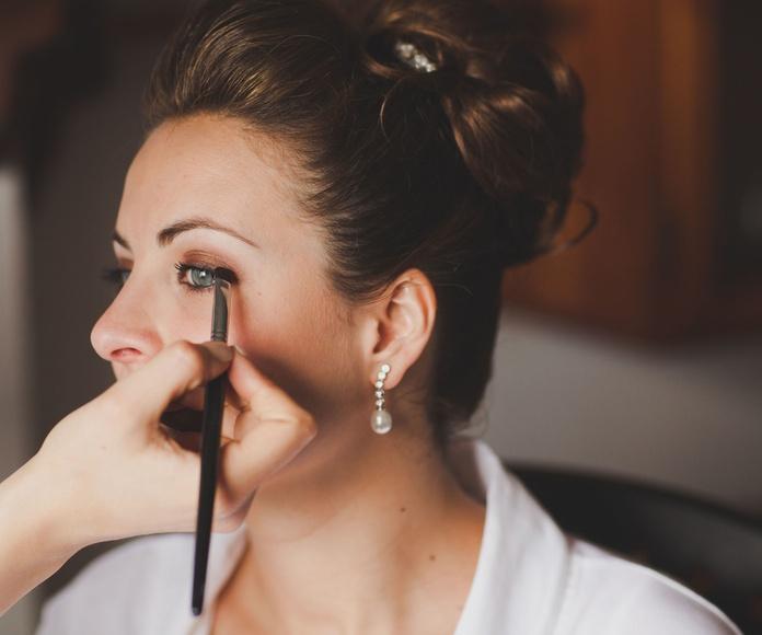 Maquillaje de novia: Servicios de Tht maquilladora