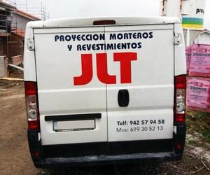 Proyección de morteros en Santander