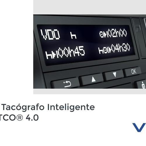 NUEVO TACÓGRAFO INTELIGENTE VDO 4.0