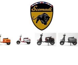 Motos de la marca Scomadi