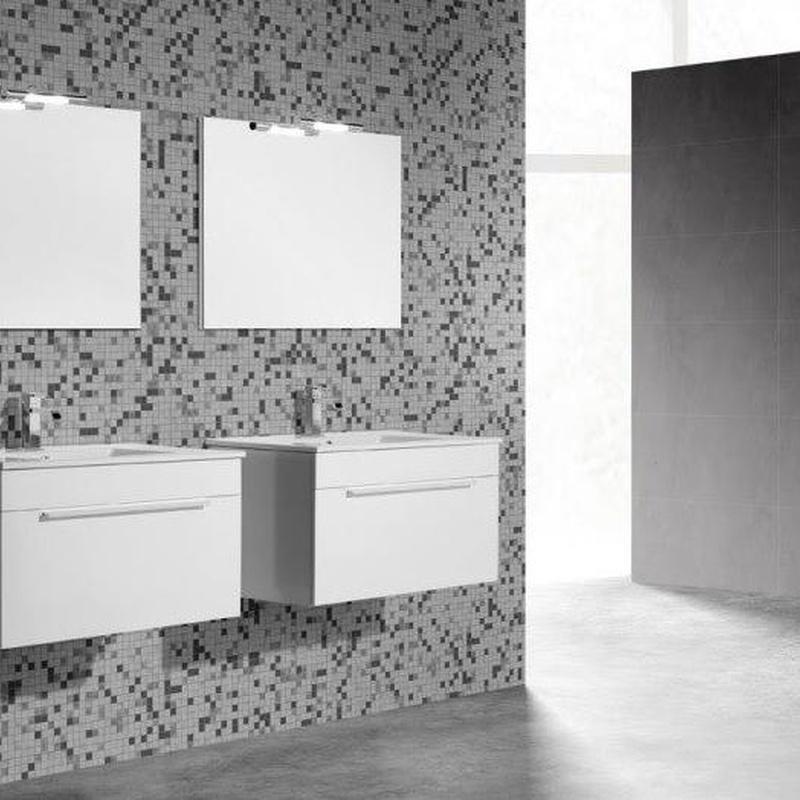 Mueble de baño Vidrebany colección Ambient modelo One
