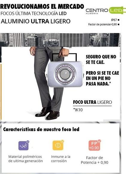 NUEVOS PROYECTORES SLIM: Productos de Centro Led Almería
