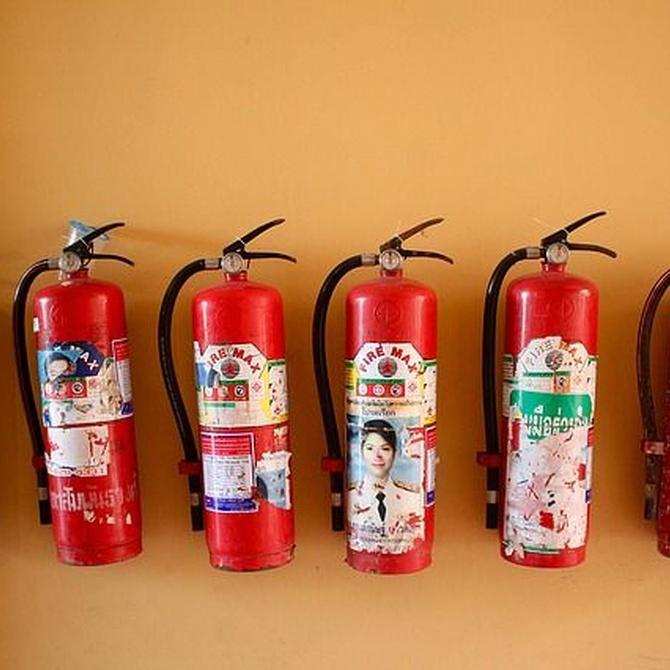 Aprende a diferenciar los diferentes tipos de incendios