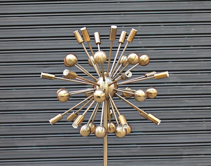 Lámpara SPUTNIK de suelo: Artículos  de Ruzafa Vintage