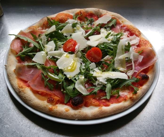 Pizzas: Especialidades de Gambrinus de Pura Pasta Italiana