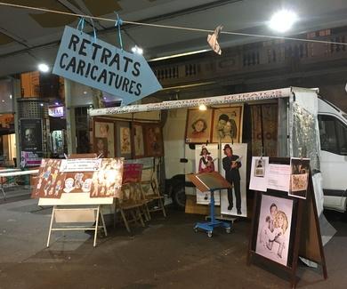 Animando Feria de ilustradores  Sublime Art Fest
