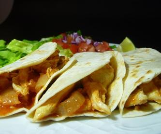 Tequilas: Nuestra Carta de Restaurante Nano el Mexicano