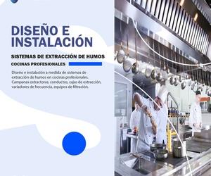 sistemas de extracción de humos restaurante