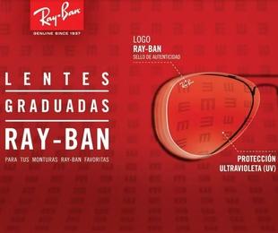 Único centro autorizado de Rayban graduado