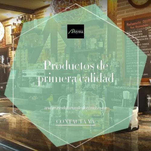 Restaurante comida casera en Marchamalo | Restaurante Doyma