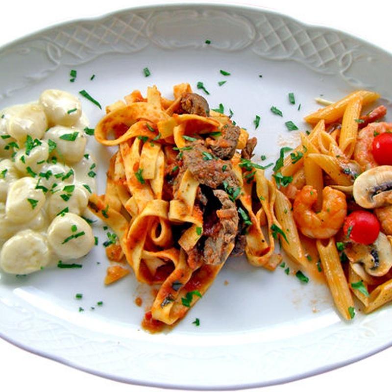 PASTAS: Catálogo de Restaurante - Pizzería Capri