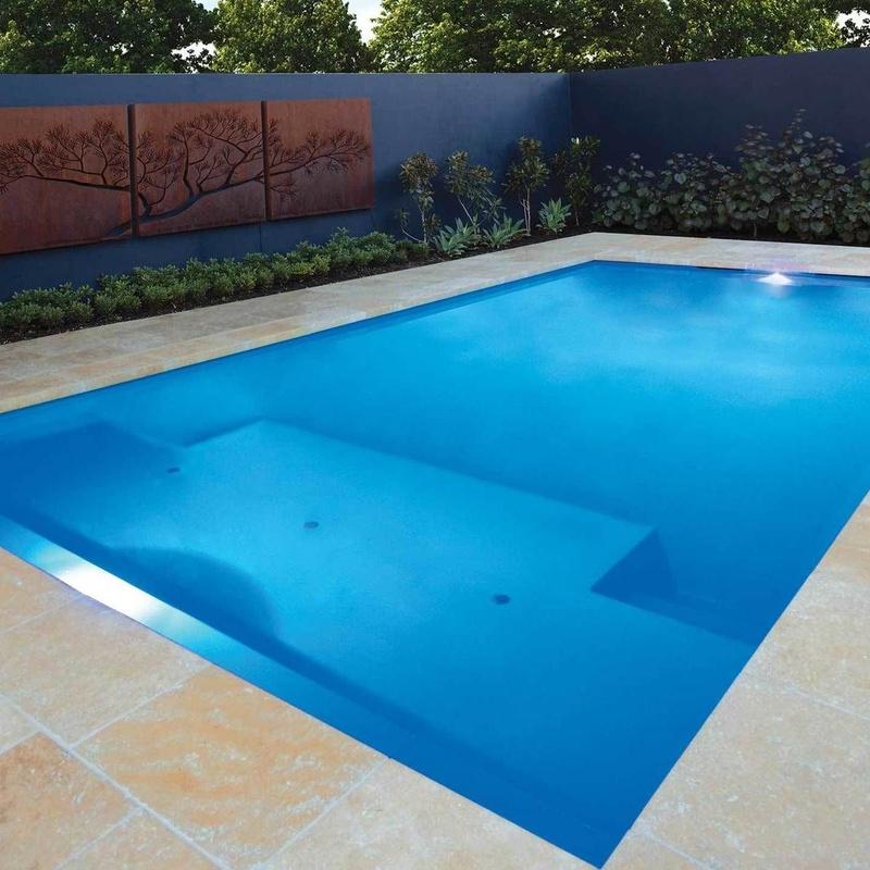 Coronación y solados para piscinas: Servicios de Granitos y Mármoles Moreno de Quer