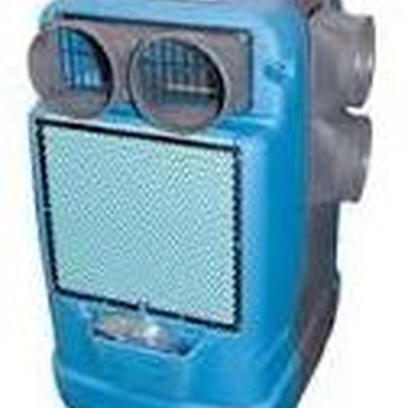 Ventilación de humedad o deshumectación : Servicios  de Teyvent