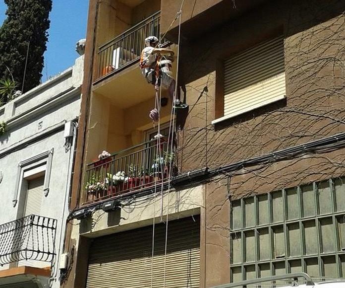 Trabajos verticales: Servicios de Grau Vertical