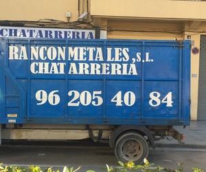 Recogida de chatarra, metales y cartón en Valencia