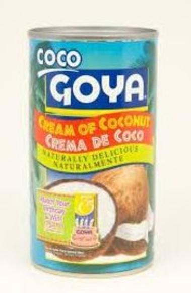 Crema de coco Goya: PRODUCTOS de La Cabaña 5 continentes