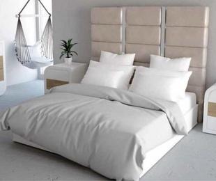 Dormitorio matrimonio de estilo neoclásico