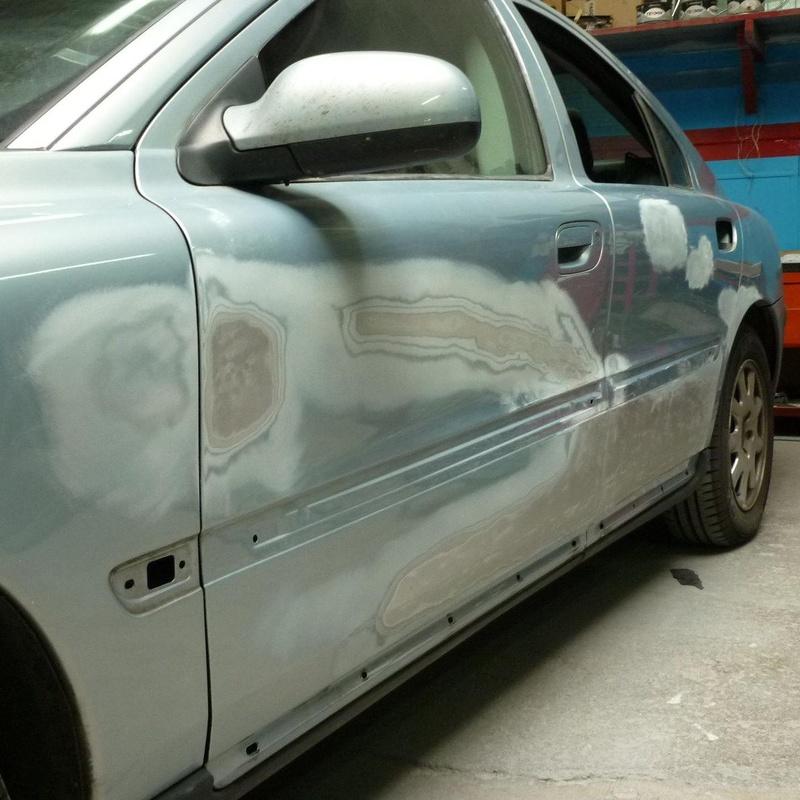 Reparación de un lateral completo de carrocería