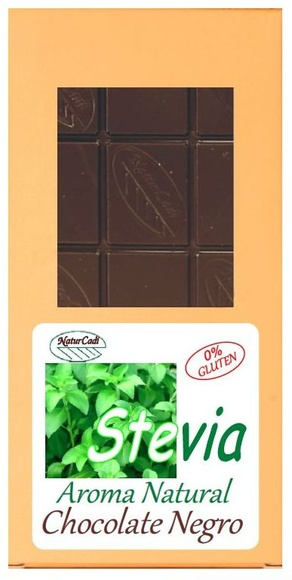 CHOCOLATE NEGRO CON STEVIA: Productos de Rexgosa®