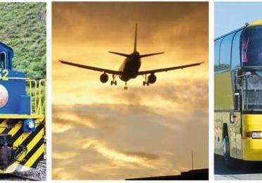 Billetes de avión,bus, tren y barco