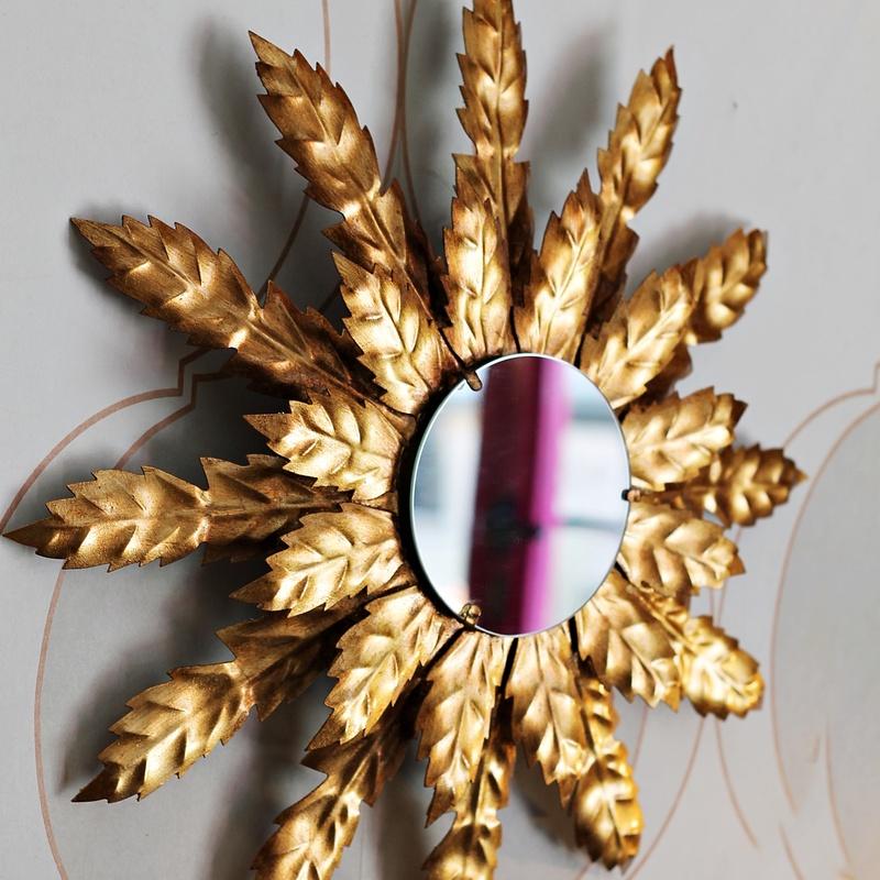 Espejo sol de forja:  de Ruzafa Vintage