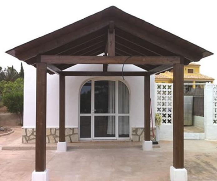 Pérgolas y porches de madera: Productos y servicios de MQMadera Interiores