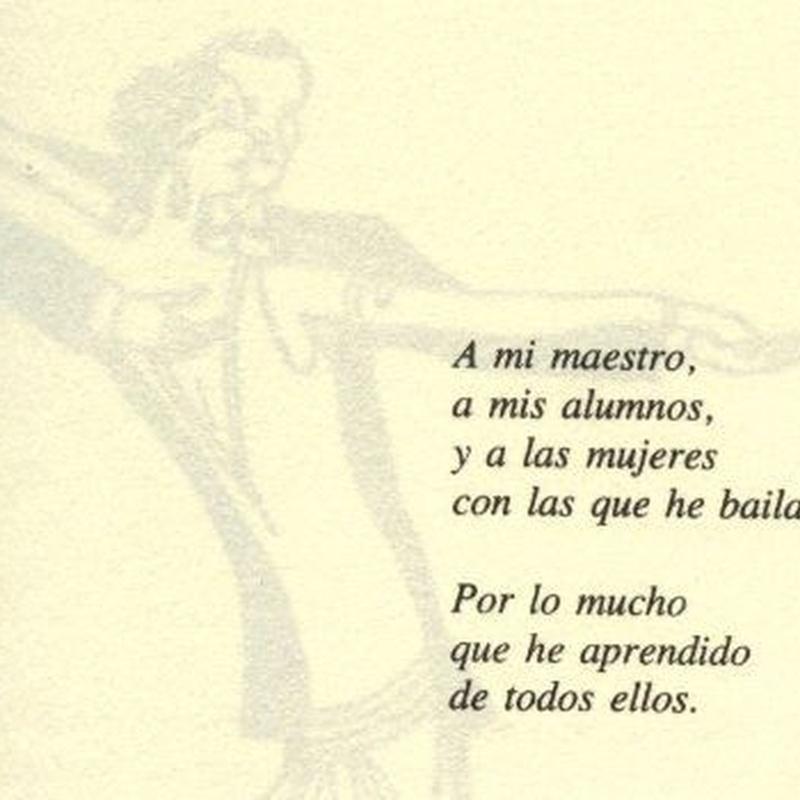 Libro publicado: Nuestras Clases de Bailes de Salón Daniel Sáez